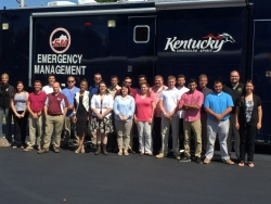 Eastern Kentucky University Homeland Security Students Serve as Simulation Cell Controllers in the 2015 Regional Chemical Stockpile Emergency Preparedness Drill